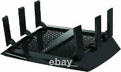 NETGEAR Nighthawk X6 AC3000 Tri-Band WiFi Router R7850-100NAS