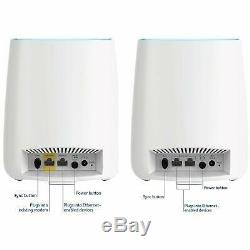 NETGEAR Orbi AC3000 (RBK53-100NAS) Tri-band WiFi System Router