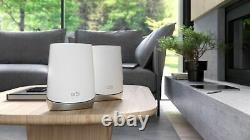 NETGEAR Orbi AX4200 Tri-Band Mesh Wi-Fi System (2-pack) White
