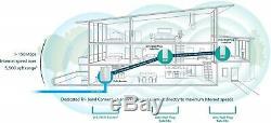 NETGEAR Orbi WallPlug Whole Home Mesh WiFi System Router & 2 Satellites, RBK33
