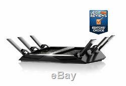 NETGEAR R8000-100NAR Nighthawk X6 AC3200 TriBand Gigabit WiFi Router Refurbished