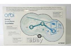 NETGEAR RBK753S-100NAS Orbi Robust Smart Home WiFi 6 System Router Satellites