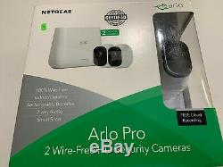 NETGEAR VMS4230-100NAS Arlo Pro Smart Security System with 2 HD Cameras