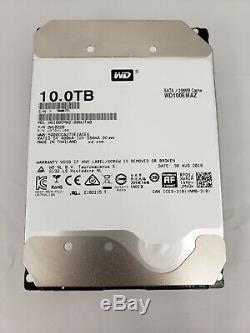 NEW 10TB WD WD100EMAZ SATA 3.5 SATA III Internal NAS Hard Drive 256mb Cache