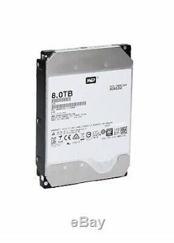 NEW 8TB Western Digital Bare Hard Drive WD80EZAZ NAS 256MB Cache