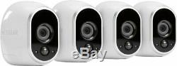NEW Arlo Wire-Free HD Security Camera System 4-Pack Night Vision Motion Alerts