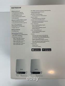 NEW NETGEAR Orbi WiFi 6 System AX4200 RBK753 RBK753S-100NAS RBK753S Router