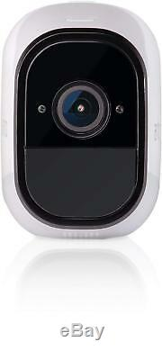 NEW Netgear Arlo Pro Smart Security System with 3 Cameras Full Color