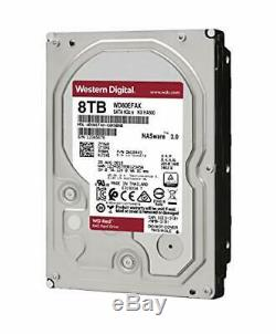 NEW SEALED WD 8TB RED NAS 3.5 HDD WD80EFAX 256MB Cache 5400RPM WTY