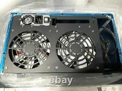 NEW U-NAS 8 Bay Mini-ITX NAS Storage Server Case Chassis Kit with PSU Cabling