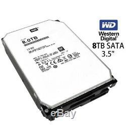NEW WD 8TB SATA NASware 3.0 3.5 SATA III Internal NAS Hard Drive 256mb WD80EZAZ