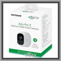 Netgear Arlo PRO 2 (VMC4030P) Add-On Wire-Free Camera, New in Retail Box