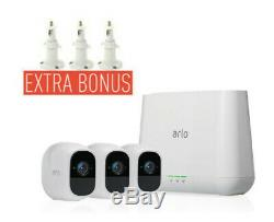 Netgear Arlo Pro 2 Wire-Free FULL HD 3 Camera VMS4330P AU Stock & Waranty