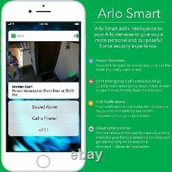 Netgear Arlo Pro Indoor/Outdoor HD Security Camera System 3 Camera (AVM-4000C) L