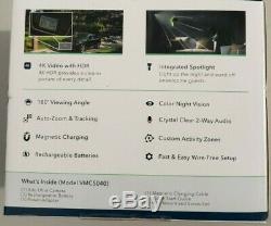 Netgear Arlo Ultra 4K UHD Wire-Free Security Camera Add-On VMC5040-100NAS Sealed