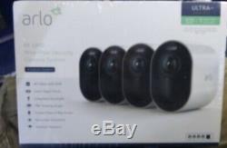 Netgear Arlo Ultra 4K Wire-Free HDR Security Cameras Surveillance / 4-camera New