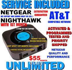Netgear Hotspot Nighthawk M1 Unlimited 4g Lte Att Network
