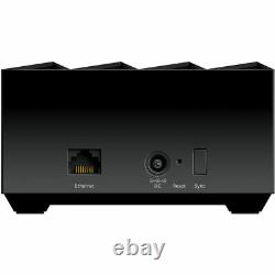 Netgear MK63-100NAR Nighthawk Home Mesh WiFi6 System 3Pack Certified Refurbished