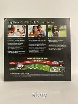 Netgear Nighthawk AC1900 WiFi Cable Modem Router (C7000-100NAS)