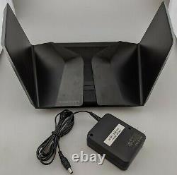 Netgear Nighthawk AX12 RAX120-100NAS Dual Band Wi-Fi Router Black In Box Good