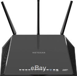 Netgear Nighthawk DST Ac1900 Dual Band Wi-Fi Router Black