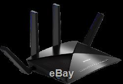 Netgear Nighthawk X10 R9000-100NAR Quad Stream Wireless Router AD7200