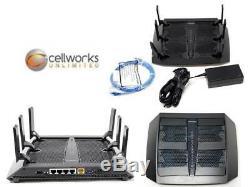 Netgear Nighthawk X6 AC3200 1300 Mbps 4-Port Gigabit Wireless AC Router