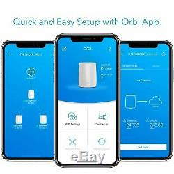 Netgear Orbi AC3000 Tri-Band Mesh Wi-Fi System White (RBR50 Router only)