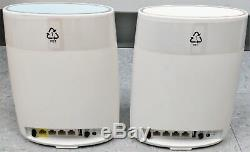 Netgear Orbi RBK50-100NAS Tri-band WiFi System Router and Satellite AC3000 Good
