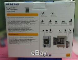 Netgear ReadyNAS Network Storage RAID RND4000-100NAS NEW