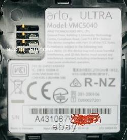 New Arlo Ultra HDR 4K Add-On Wireless Security Spotlight Camera w Battery Mount