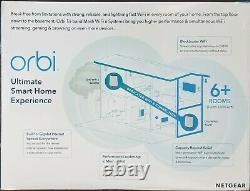 New! Netgear Orbi Wifi 6 Tri-band Mesh Ax6000 Rbk852 Rbk852-100nas