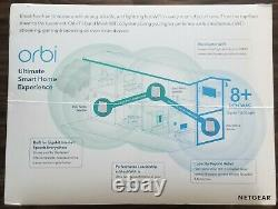 New! Netgear Orbi Wifi 6 Tri-band Mesh Ax6000 Rbk853 Rbk853-100nas