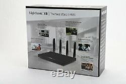 New Open Box NETGEAR Nighthawk X8 AC5300 Tri-band WiFi Router, Gigabit Ethernet
