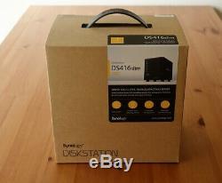 New Synology Diskstation DS416slim Diskless 4-Bay 2.5 Network Storage NAS