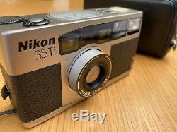 Nikon 35Ti QD Compact Film Camera excellent condition, London, UK