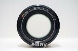 Nikon 50mm F/1.2 AI-S Lens with CANON EF adapter
