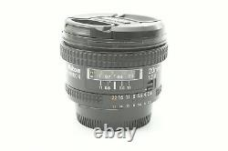 Nikon Nikkor 20mm f/2.8 D AF Wide-angle Prime Lens With front and rear caps