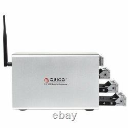 ORICO 3549U3RF 3.5 4-Bay Wi-Fi & Gigabit Ethernet NAS RAID-0/1/3/5/10 / combine