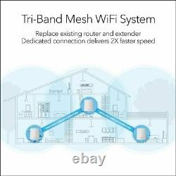 Orbi Home WiFi System. Up to 6,000 sq ft AC2200 Tri-Band WiFi (RBK23) by NETGEAR