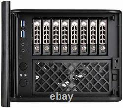 Premium 8-bay 2.5 small form factor NAS chassis