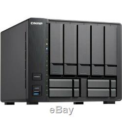 QNAP 9-bay Hybrid NAS Supporting 3.5 & 2.5 Drives with Dual 10GbE Ports 2GB RAM