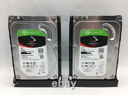 QNAP TS-251+ Network Attached Storage 2x2TB Seagate IronWolf HDD Remote 4GB RAM