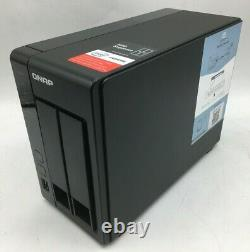 QNAP TS-251+ Network Attached Storage (with2x2TB Seagate IronWolf HDD + Remote!)