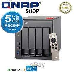 QNAP TS-451+ 2G 4 Bay Diskless NAS Quad-core 2.0GHz CPU 2GB RAM TS-451Plus2