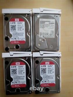 QNAP TS-451 Turbo NAS Network Attached Storage, 4 Bay, 16GB RAM, 3 x 3TB WD Red