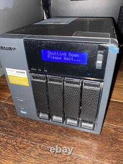 QNAP TS-453A 4 Bay NAS Server Excellent Condition