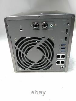 QNAP TS-453A 4-Bay QTS-Linux Combo NAS 8GB RAM 0HD Diskless NO Power Supply