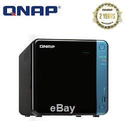 QNAP TS-453BE-4G 4 Bay Diskless NAS Intel Celeron Quad Core 1.5GHz CPU 4GB RAM