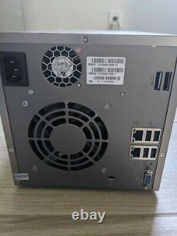 QNAP TS-459 Pro+ Four 1TB WD HDD, 1GB RAM Intel Atom 1.8GHz dual core